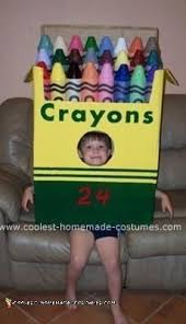 coolest crayon halloween costume