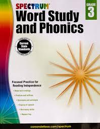 spectrum word study and phonics grade 3 spectrum 9781483811840