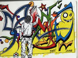 manic graffiti design by reponic on deviantart - Graffiti Design