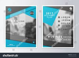 layout design brochure layout annual report stock vector 416634460