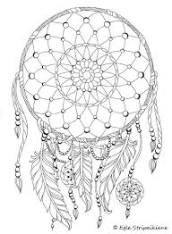 118 best dreamcatcher coloring page images on pinterest drawings