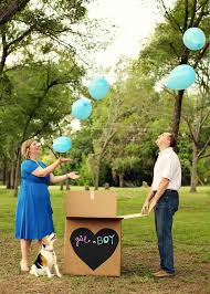 gender reveal balloons in a box 10 creative gender reveal ideas project nursery
