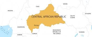 Gabon Africa Map by Central African Republic European Commission