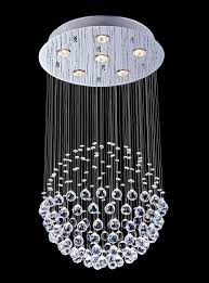 Ceiling Light Decorations Contemporary Chandeliers Luxuriant Crystal And Flush Mount Light