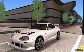 custom toyota supra twin turbo supra veilside twinturbo for gta san andreas