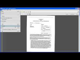 getting started converting scanned documents into a pdf file