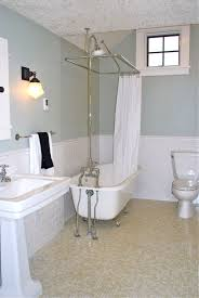 Bathroom With Wainscoting Ideas 30 Penny Tile Designs That Look Like A Million Bucks