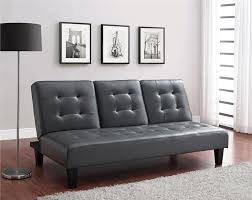 dhp furniture julia convertible sofa bed with cup holder