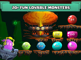monster math fun math games free for kids android apps on
