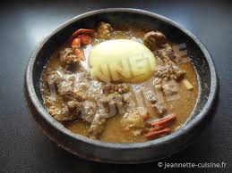 cuisine ivoirienne en sauce gouagouassou plat africain jeannette cuisine
