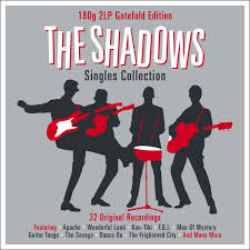 the shadows singles collection not now music