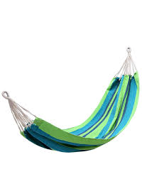 canvas hammock colourful striped high wear resisting performance