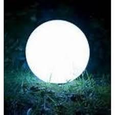 glow in the balls gardens led garden pool glow 40cm