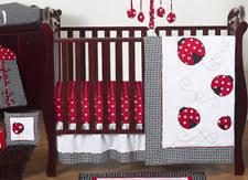 ladybug crib bedding ebay