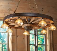 Wagon Wheel Home Decor Decor Wagon Wheel Lamp Wagon Wheel Chandelier