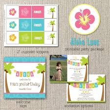 template hawaiian 50th birthday invitations also hawaiian