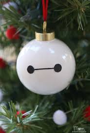 disney s big 6 diy baymax ornament