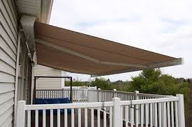 Cassette Awnings K300 Retractable Awning Great For Waterfront Properties Compact
