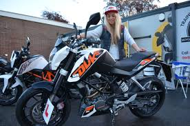 girls on motocross bikes on gas winter olympic snowboarder aimee fuller rides ktm