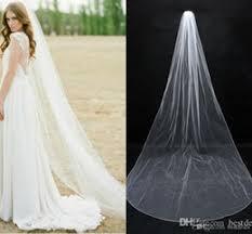 wedding veils for sale discount plain wedding veils 2018 white plain wedding veils on