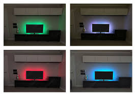 pc led light strips tv usb rgb led strip back light color changing lighting kit pc ps4