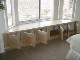 Window Seat With Storage Kitchen Makeovers Long Window Seat Bench Window Bench Seat