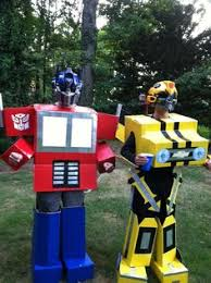 Transformer Halloween Costume Transforms Awesome Homemade Transforming Bumblebee Transformer Halloween