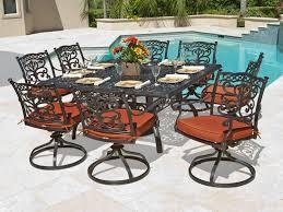 perfect aluminum outdoor patio dining sets cast aluminum patio