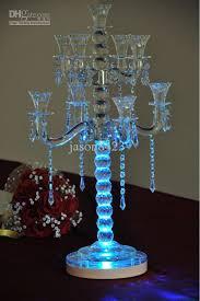 led rgb 8 round base light wedding centerpiece eiffel tower vase