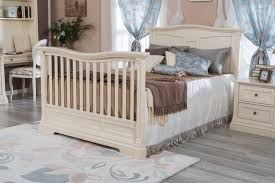 Solid Back Panel Convertible Cribs Romina Furniture Imperio Solid Panel Convertible Crib N Cribs