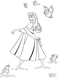 sleeping beauty coloring pages free coloring pages