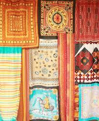 scarf curtains jungalowjungalow