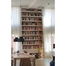 Bookcase Ladder Rolling Library Ladders Rolling Ladders Ladderstore Com