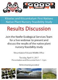 native plant nurseries native plant nursery feasibility study results discussion