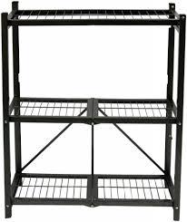 Folding Island Kitchen Cart by Origami Folding Island Kitchen Cart With Extendable Shelves With
