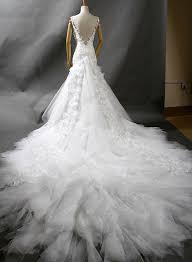 lj130 luxurious straps open back lace mermaid wedding dress with