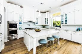 White Carrera Marble Kitchen Countertops - 45 luxurious kitchens with white cabinets ultimate guide