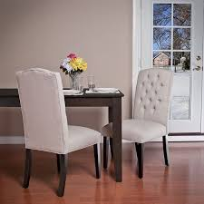 Dining Chair Fabric Lovely White Fabric Dining Chairs Furniture Comfortable Look About