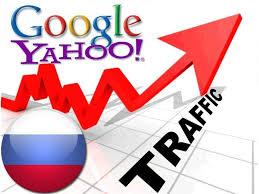 organic traffic from google ru yahoo russia for 6 seoclerks