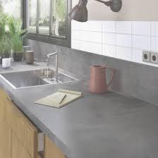cuisine stratifié plan de travail de cuisine stratifié bois inox recoupable