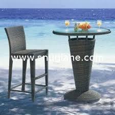 Rattan Bar Table Rattan Bar Table Set Garden Outdoor Hotel Restaurant Club Use