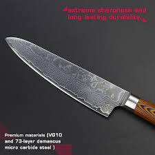 damascus steel kitchen knives haoye 8