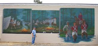 Wall Mural Country Forest Road Swamp Fox Murals For Francis Marion