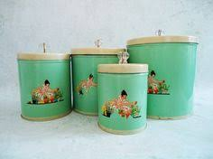 antique kitchen canister sets 9 5in tallest one copper canister set revere ware brass