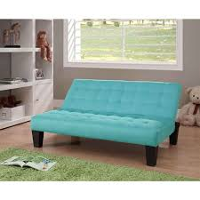 Sofa Bed For Kids Kids Teens Futon Sofa Bed Recliner In Teal Blue Green Microfiber