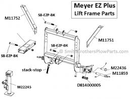 spring for hook up pin meyer ez plus mdii drive pro