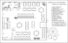 plan d une cuisine de restaurant comment bien aménager sa salle