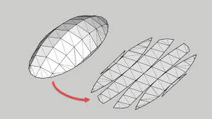 unwrap and flatten faces sketchup extension warehouse