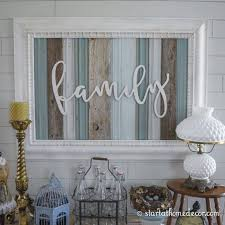 home decor family signs start at home decor s reclaimed family wood signs with wood word