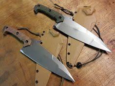 tactical kitchen knives cfk usa ipak survival custom handmade damascus spec ops tactical